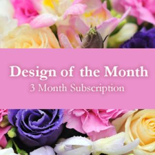 Design of the Month - 3 Month Subscription