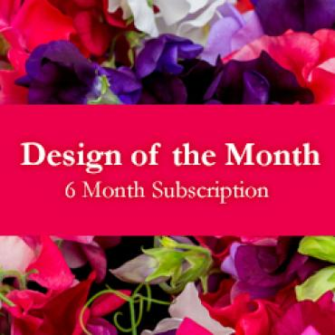 Design of the Month - 6 Month Subscription