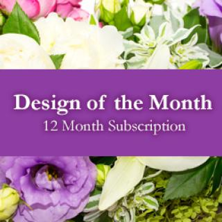 Design of the Month - 12 Month Subscription