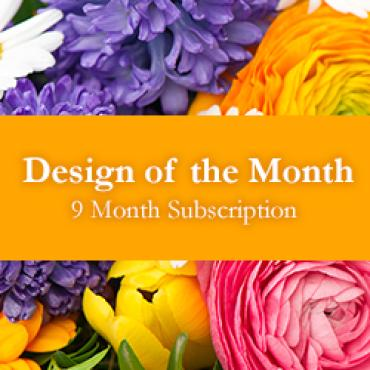 Design of the Month - 9 Month Subscription