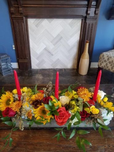 Thanksgiving Centerpiece T103