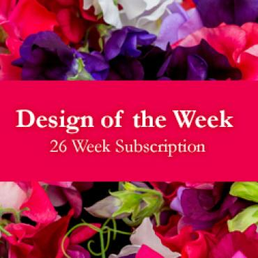 Design of the Week - 26 Week Subscription